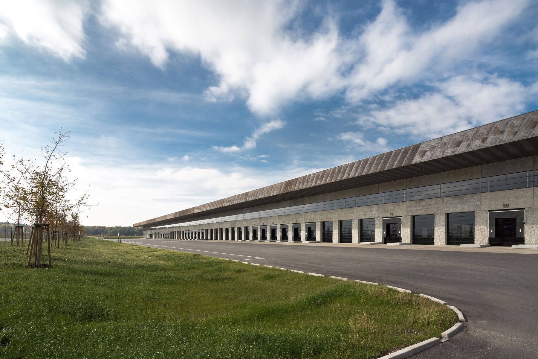KTM Logistikzentrum